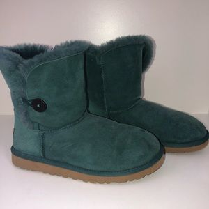 Ugg Bailey Button Teal Boot